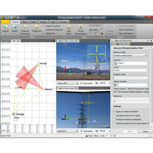 Программное обеспечение Trimble Business Surface Modeling