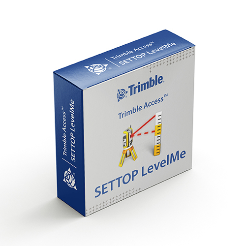 Модуль ПО Trimble Access SETTOP LevelMe